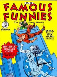 Cover Thumbnail for Famous Funnies (Eastern Color, 1934 series) #87
