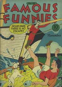 Cover Thumbnail for Famous Funnies (Eastern Color, 1934 series) #88