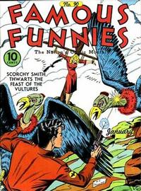 Cover Thumbnail for Famous Funnies (Eastern Color, 1934 series) #90
