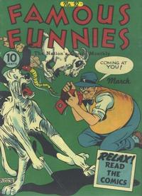 Cover Thumbnail for Famous Funnies (Eastern Color, 1934 series) #92