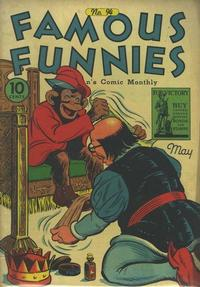 Cover Thumbnail for Famous Funnies (Eastern Color, 1934 series) #94