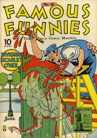 Cover Thumbnail for Famous Funnies (Eastern Color, 1934 series) #95