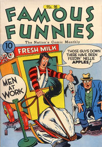 Cover Thumbnail for Famous Funnies (Eastern Color, 1934 series) #96