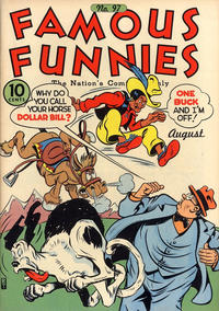 Cover Thumbnail for Famous Funnies (Eastern Color, 1934 series) #97