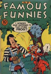 Cover Thumbnail for Famous Funnies (Eastern Color, 1934 series) #98
