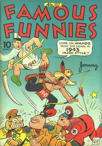 Cover Thumbnail for Famous Funnies (Eastern Color, 1934 series) #102