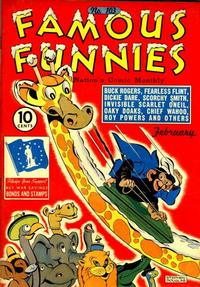 Cover Thumbnail for Famous Funnies (Eastern Color, 1934 series) #103
