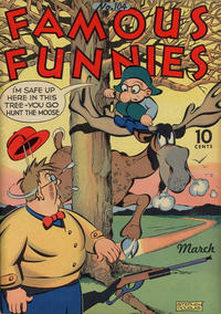 Cover Thumbnail for Famous Funnies (Eastern Color, 1934 series) #104