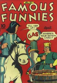 Cover Thumbnail for Famous Funnies (Eastern Color, 1934 series) #105