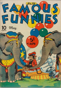 Cover Thumbnail for Famous Funnies (Eastern Color, 1934 series) #106
