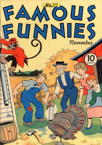 Cover Thumbnail for Famous Funnies (Eastern Color, 1934 series) #112