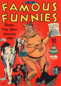 Cover Thumbnail for Famous Funnies (Eastern Color, 1934 series) #114