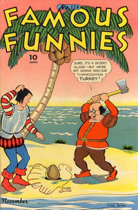 Cover Thumbnail for Famous Funnies (Eastern Color, 1934 series) #124