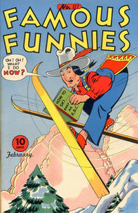 Cover Thumbnail for Famous Funnies (Eastern Color, 1934 series) #127