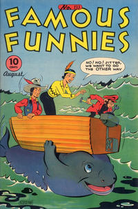 Cover Thumbnail for Famous Funnies (Eastern Color, 1934 series) #133