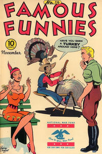 Cover Thumbnail for Famous Funnies (Eastern Color, 1934 series) #136