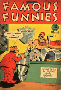 Cover Thumbnail for Famous Funnies (Eastern Color, 1934 series) #140