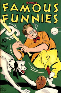 Cover Thumbnail for Famous Funnies (Eastern Color, 1934 series) #142