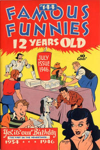 Cover Thumbnail for Famous Funnies (Eastern Color, 1934 series) #144