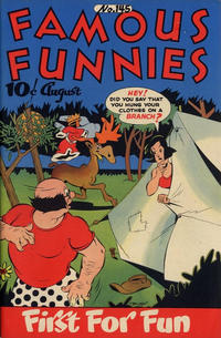 Cover Thumbnail for Famous Funnies (Eastern Color, 1934 series) #145