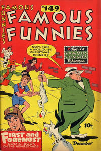 Cover Thumbnail for Famous Funnies (Eastern Color, 1934 series) #149