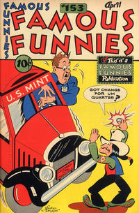 Cover Thumbnail for Famous Funnies (Eastern Color, 1934 series) #153