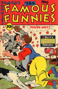 Cover Thumbnail for Famous Funnies (Eastern Color, 1934 series) #154