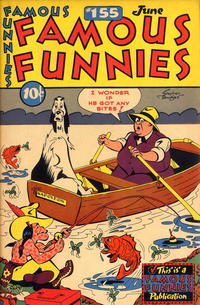 Cover Thumbnail for Famous Funnies (Eastern Color, 1934 series) #155