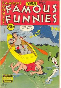 Cover Thumbnail for Famous Funnies (Eastern Color, 1934 series) #158