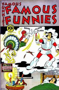 Cover Thumbnail for Famous Funnies (Eastern Color, 1934 series) #160