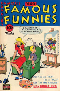 Cover Thumbnail for Famous Funnies (Eastern Color, 1934 series) #164