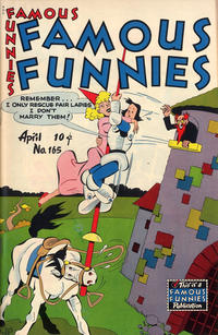Cover Thumbnail for Famous Funnies (Eastern Color, 1934 series) #165