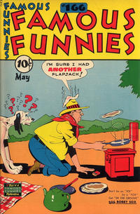 Cover Thumbnail for Famous Funnies (Eastern Color, 1934 series) #166