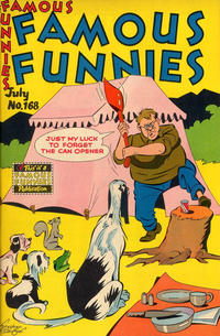 Cover Thumbnail for Famous Funnies (Eastern Color, 1934 series) #168
