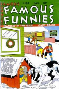 Cover Thumbnail for Famous Funnies (Eastern Color, 1934 series) #174