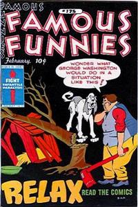 Cover Thumbnail for Famous Funnies (Eastern Color, 1934 series) #175