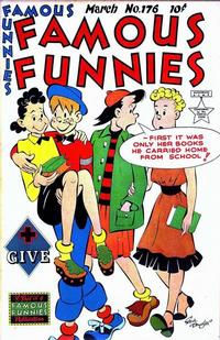 Cover Thumbnail for Famous Funnies (Eastern Color, 1934 series) #176