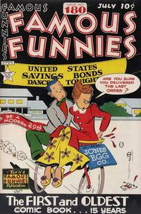 Cover Thumbnail for Famous Funnies (Eastern Color, 1934 series) #180