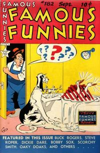 Cover Thumbnail for Famous Funnies (Eastern Color, 1934 series) #182