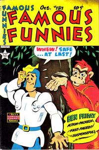 Cover Thumbnail for Famous Funnies (Eastern Color, 1934 series) #183