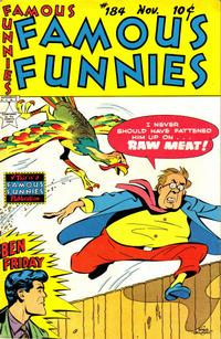 Cover Thumbnail for Famous Funnies (Eastern Color, 1934 series) #184