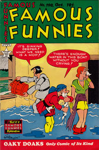 Cover Thumbnail for Famous Funnies (Eastern Color, 1934 series) #190