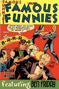 Cover Thumbnail for Famous Funnies (Eastern Color, 1934 series) #195