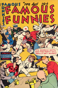 Cover Thumbnail for Famous Funnies (Eastern Color, 1934 series) #199