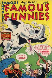 Cover Thumbnail for Famous Funnies (Eastern Color, 1934 series) #201
