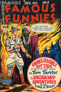 Cover Thumbnail for Famous Funnies (Eastern Color, 1934 series) #202