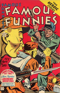 Cover Thumbnail for Famous Funnies (Eastern Color, 1934 series) #205