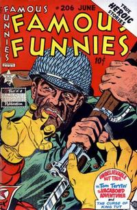 Cover Thumbnail for Famous Funnies (Eastern Color, 1934 series) #206