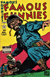 Cover Thumbnail for Famous Funnies (Eastern Color, 1934 series) #207