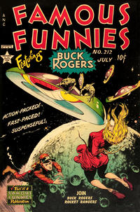 Cover Thumbnail for Famous Funnies (Eastern Color, 1934 series) #212